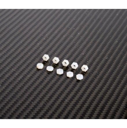 Nylon mutter M3 10 pack