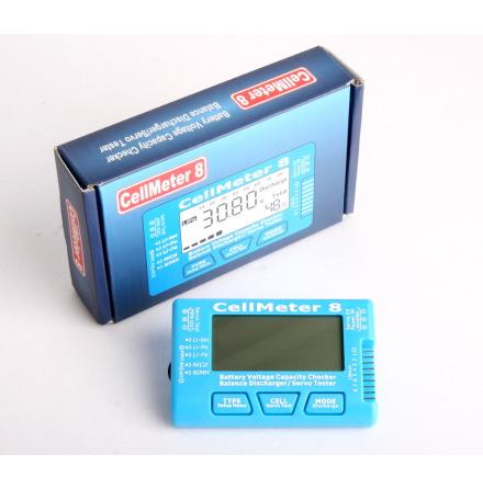 Batteri testare för Li-Po/Li-lon/Li-Fe(2-8S),NiCd/NiMH(4-8S)