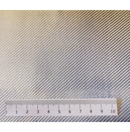 Aluminiumbelagd Glasfiberväv 200 g/m²  silver Bredd:127cm / Löpmeter