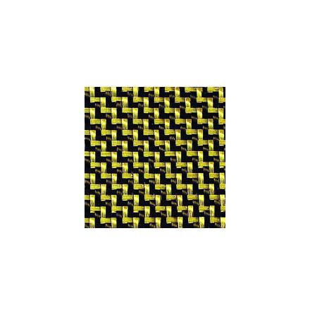 Kolfiber/Aramid väv 205 g/m² twill