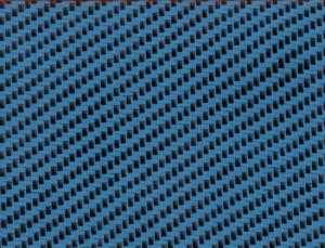 Designväv Blå 200 g/m2 1,20 m bred.
