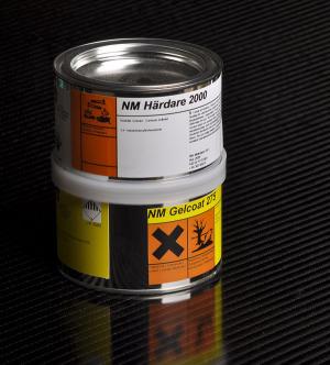 NM Gelcoat 275 0,813 kg färg:vit.