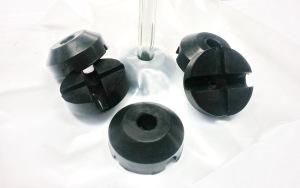 Injicerings anslutning i silikon