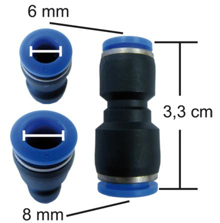 Snabbkoppling för vakuumkoppling - art nr: vakkoppl-1